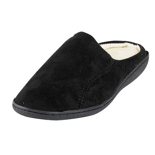 Coolers - Zapatillas de estar por casa para hombre, color marrón, talla 42.5