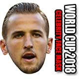 Foxy Printing England Facemasks HARRY KANE - ENGLAND WORLD CUP 2018 FOOTBALL FACEMASK PARTY FACE MASK FANCY DRESS CARDBOARD FACE MASK