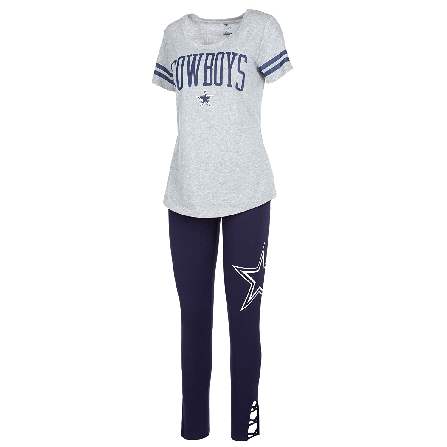 feeba323 Amazon.com : Dallas Cowboys NFL Womens Cecily Lounge Set : Sports ...