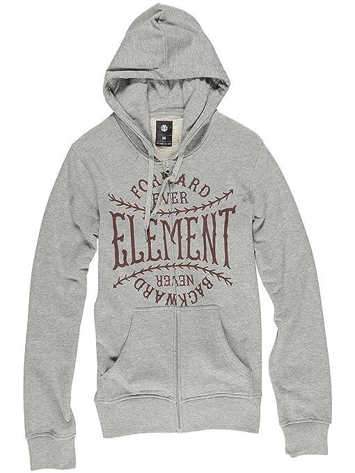 Element - Sudadera con Capucha - para Hombre Gris Gris Talla:XS