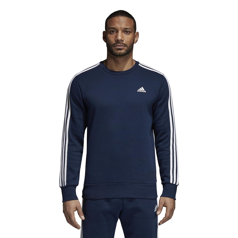 Adidas Men's Essentials 3-Stripes Crew Sweatshirt F1754MCL309B-P