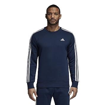 Adidas Hombres de Atletismo Esencial 3 Rayas Jersey con Cuello Redondo para Mujer: Amazon.es: Deportes y aire libre