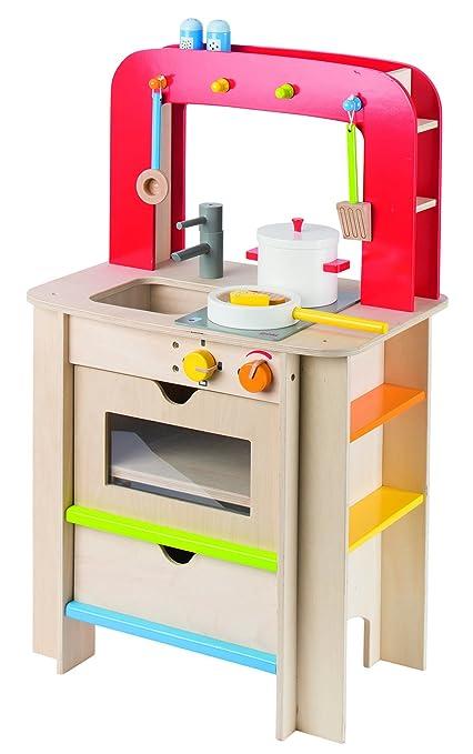 Goki 2040743 Jeu Dimitation Cuisine Jouet Bois Kitchen