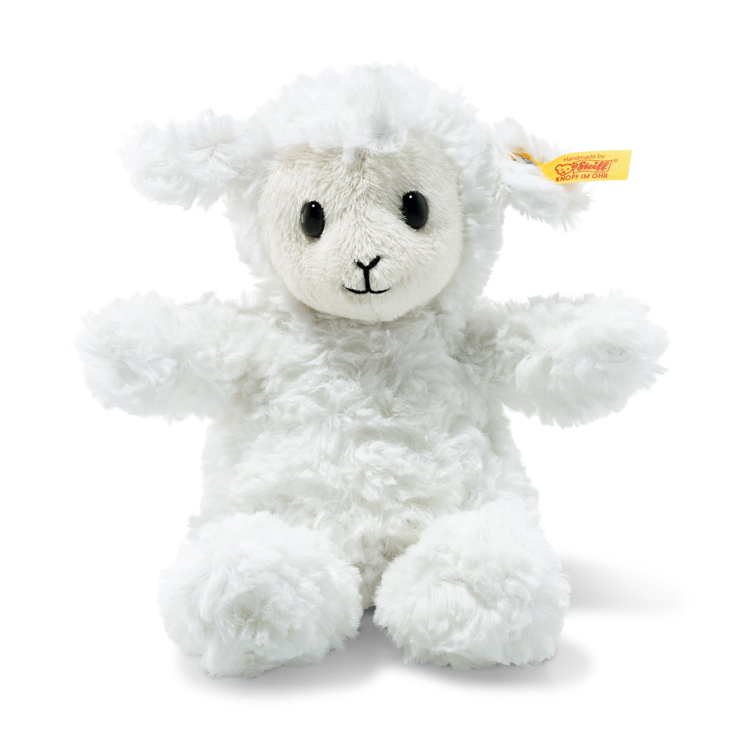 Amazon Com Steiff Stuffed Fuzzy Baby Lamb Soft And Cuddly Plush