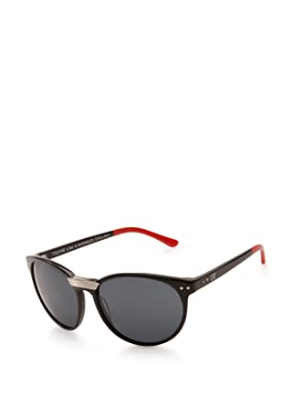 4718a1756d Amazon.com  CTRL For Sabre Sunglasses Black Red Tip Grey
