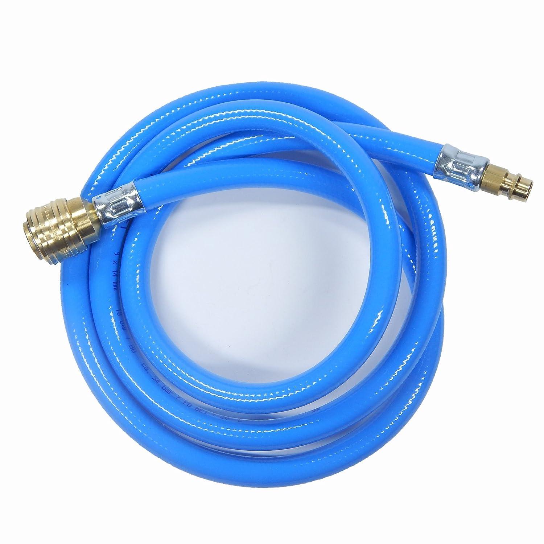 Tubo de aire comprimido tejido/ /9/mm/ /13/mm como Metro /Manguera compresor aire Manguera como conjunto con Taller acopladores en 6/mm/