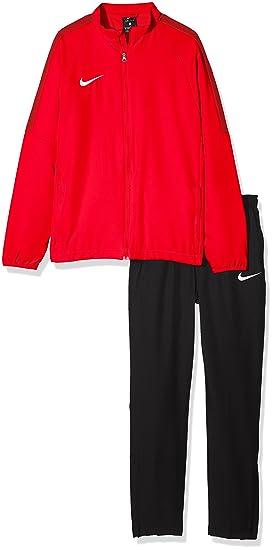 Nike Kids Dry Academy18 Football Tracksuit, Unisex niños, Black ...