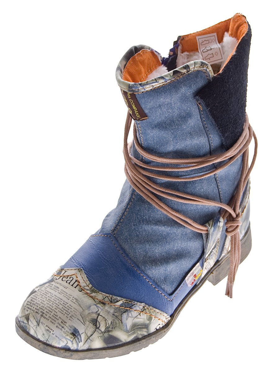 TMA - Botas Desert Mujer 36 EU|Azul - azul vaquero