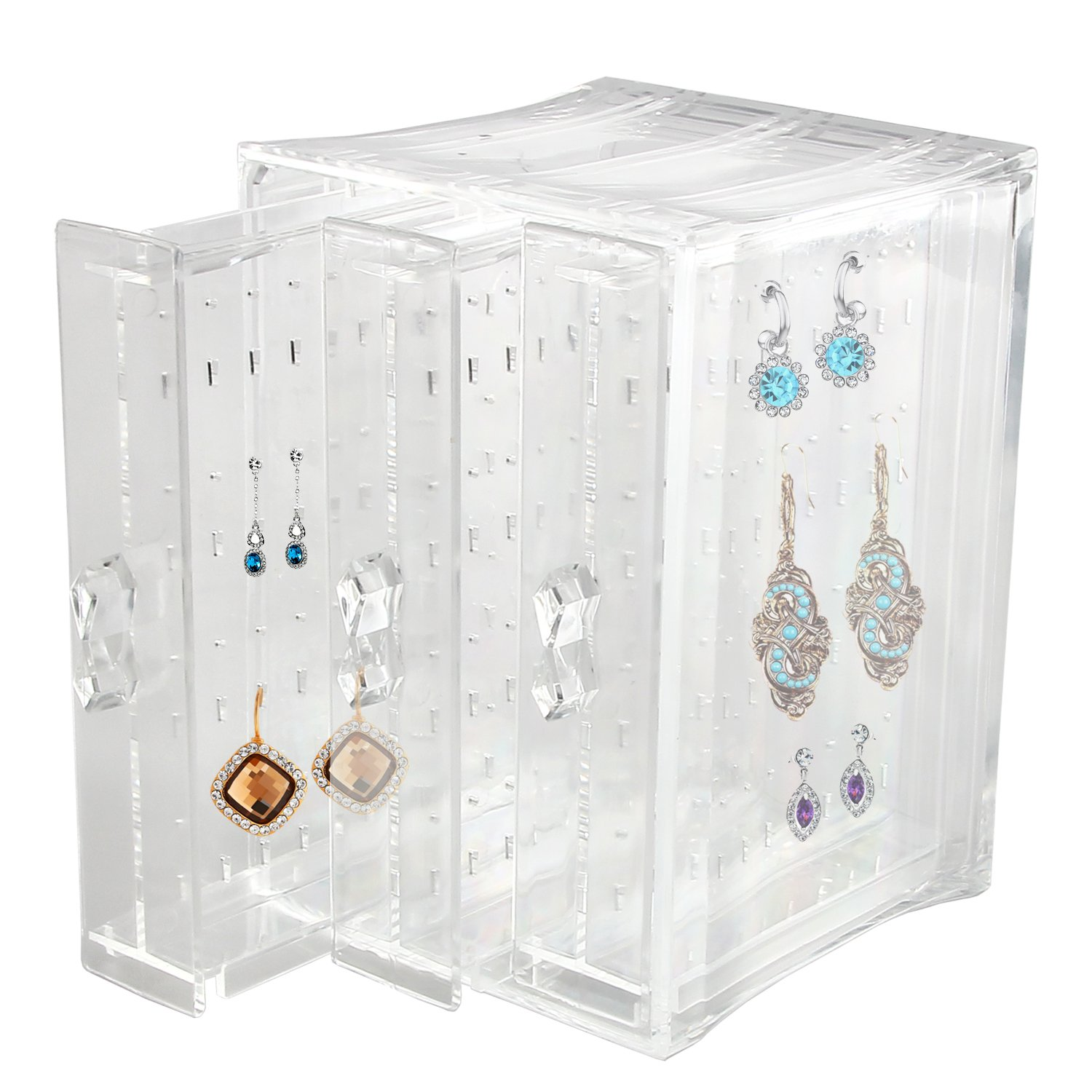 Discoball Acrylic Earrings Holder Jewellery Organiser 57040