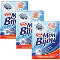 Limpa Máquina De Lavar Roupas Mon Bijou Sachê 80g - 3 Unid