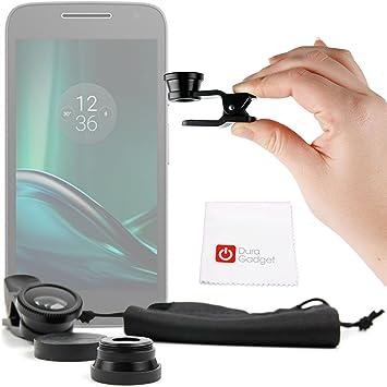 DURAGADGET Kit Lentes 3 EN 1 para Smartphone Samsung Galaxy A5 | Galaxy J5 | Galaxy S5 | Galaxy S6 | S7 Edge: Amazon.es: Electrónica