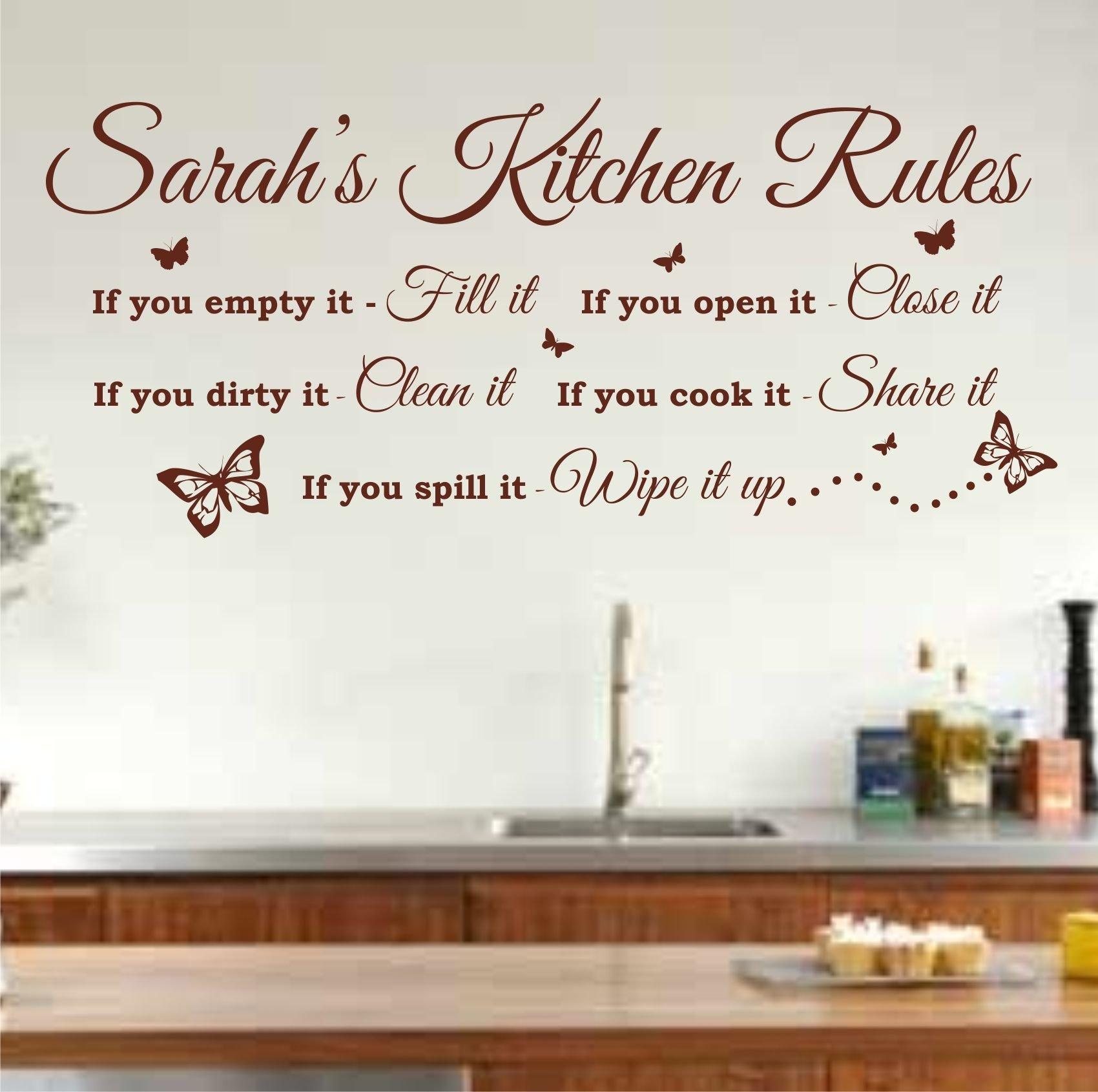 kitchen wall art amazon co uk