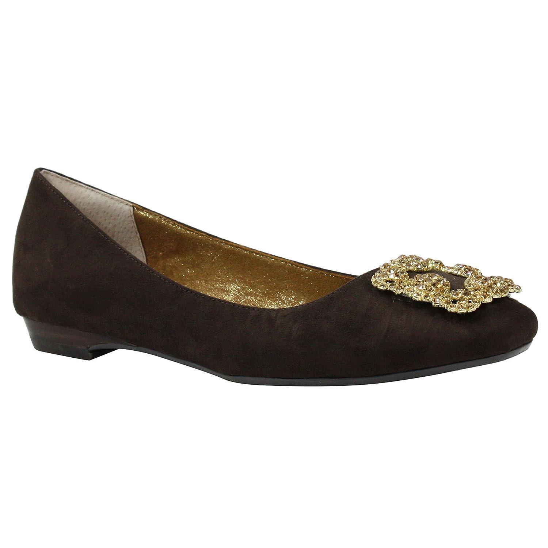 J.Renee Frauen Flache Schuhe Schokoladenbraun Schokoladenbraun Schuhe 41bda5