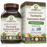 Nutrigold Turmeric Curcumin Gold (Features C3 Complex w/ BioPerine), 500 mg, 120 veg. capsules