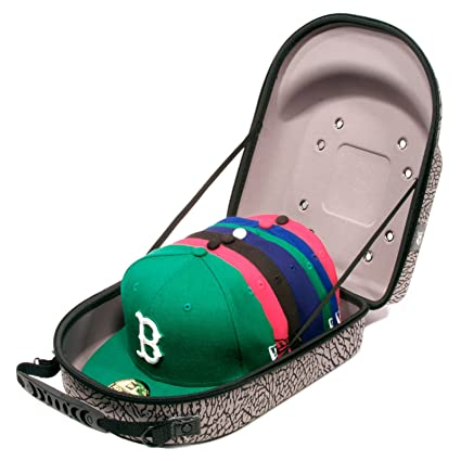 da85cfee6a6 Image Unavailable. Image not available for. Color  Homiegear Brand Carrier  Case - 6 Hats ...