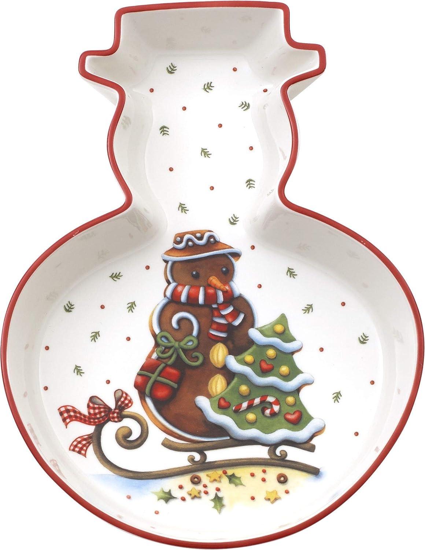 Premium Porzellan Braun//Wei/ß Villeroy /& Boch Winter Bakery Delight Schale Muffin