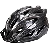 Six Foxes Cycle Helmet, Unisex Adult Bike Racing Bicycle Cycling Helmet with Removable Visor and Liner Adjustable Thrasher