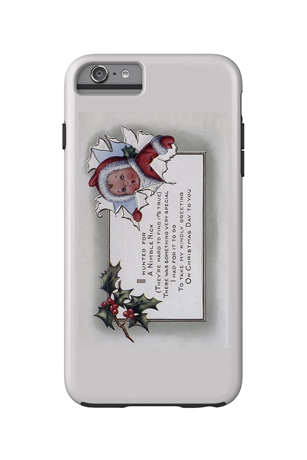 Amazon Christmas Greeting Little Kid Through Paper Iphone 6