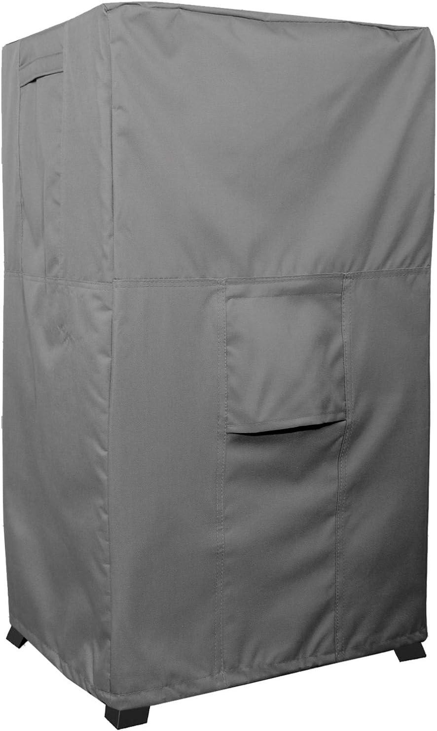 KHOMO GEAR Fumador Cover–Titan Serie–Resistente al Agua Square Fumador Pantalla–Gris
