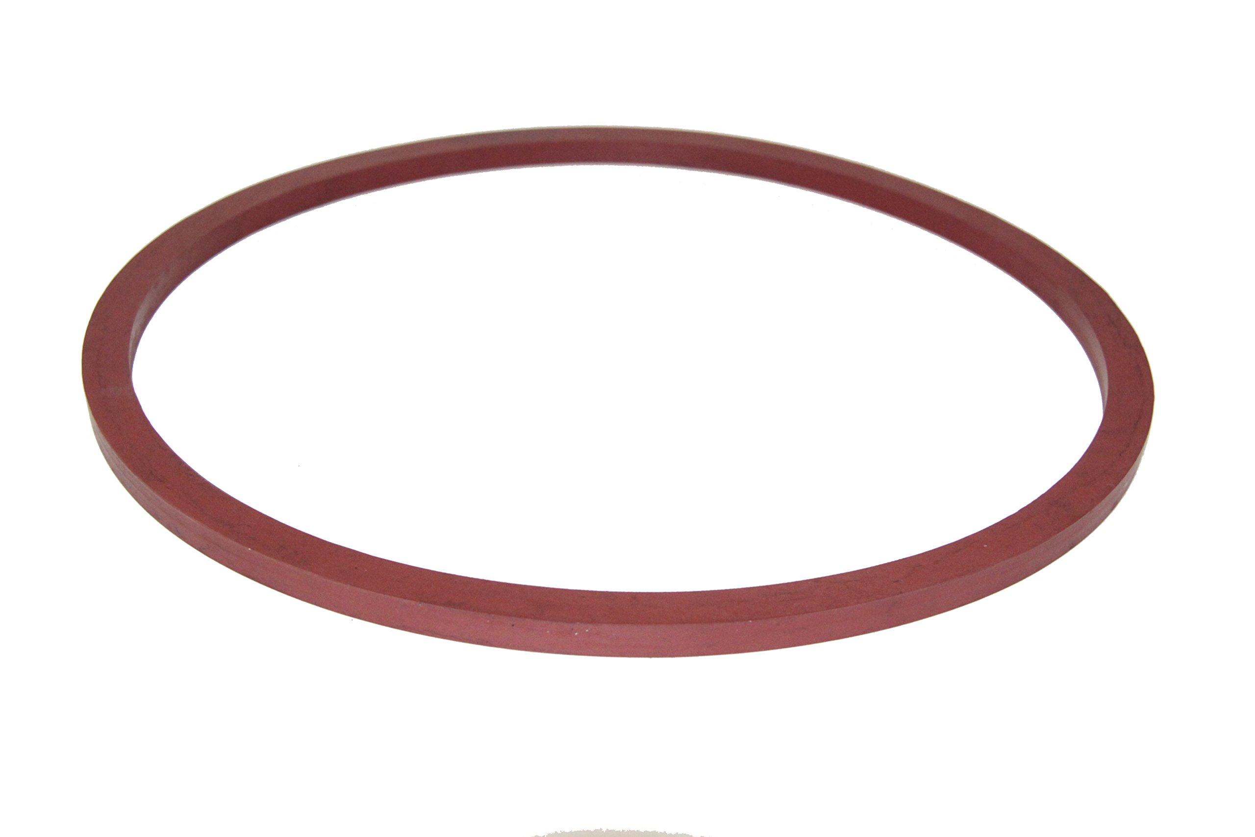 Door Seal Gasket for Tuttnauer 2107 EZ10 EZ10K 2540 Series 02610023
