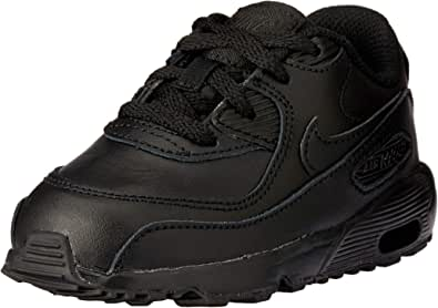 Nike Australia Baby Boys Air Max 90 LTR (TD) Fashion Shoes, Black/Black