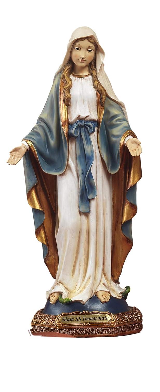 Art/ículos religiosos de Paben Estatua Mar/ía Virgen Inmaculada en Resina 30 cm