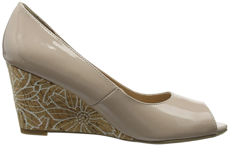 Lotus Peep-Toe Damen Cabina Peep-Toe Lotus Beige (Nude Patent Nde Pat) 70f1b2