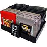 Collector Craft Black Game Organizer Compatible with Nintendo Game Boy Cartridge, Dust Cover, Cartridge Holder, Gameboy…