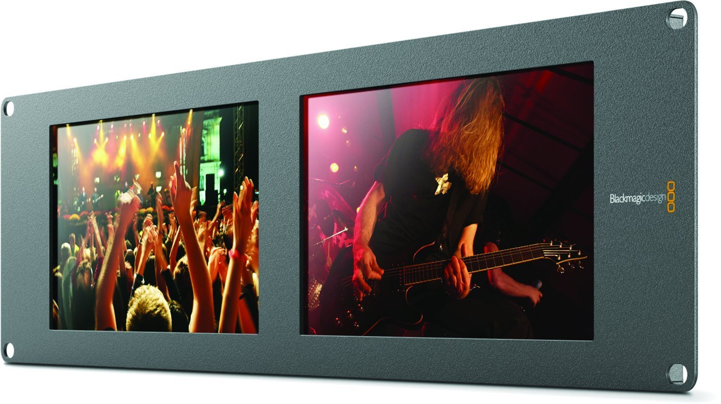 Blackmagic Design Smartview Duo Rackmountable Dual 8'' LCD Monitors