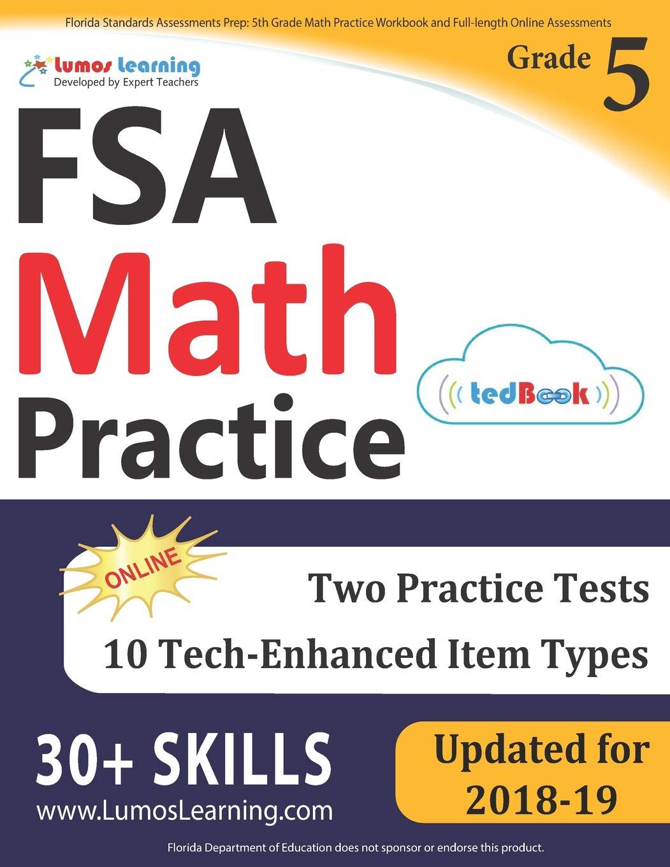 Florida Standards Assessments Prep: 5th Grade Math Practice