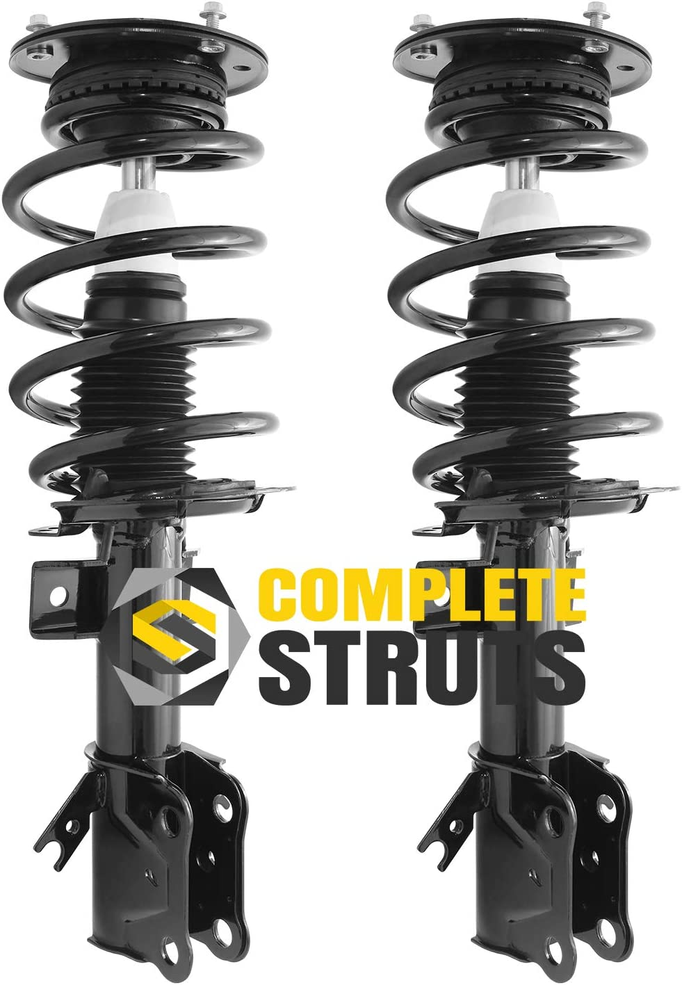 Front Quick Complete Struts /& Coil Spring Assemblies Compatible with 2013-2017 Ford Fusion 2.0L Pair