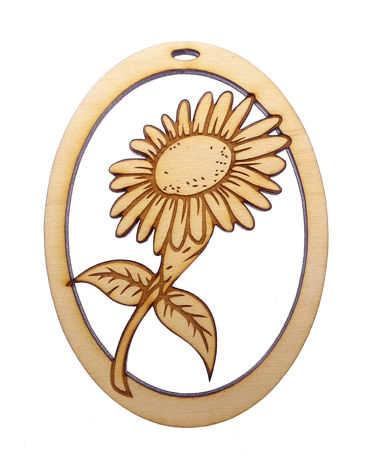Sunflower Mason Jar Personalized Christmas Ornament with couple/'s names Rustic Wood Ornament Newlywed Gift Wedding Gift Engagement OR519