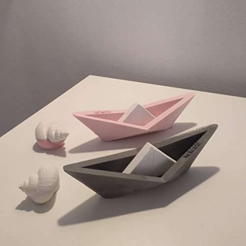 12 Voiliers De Style Origami Personnalisables Yumilab Petite Barque Voile Voilier Marine Cadeau Marin Amazon Fr Handmade