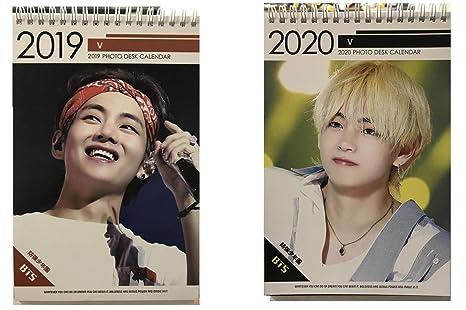 Amazon.com: Kpop BTS Bangtan 2019 & 2020 - Calendario de ...