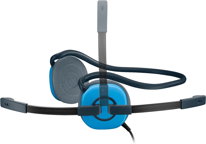Sluchawki Stereo Logitech Headset H130 Sky Blue Niebieskie