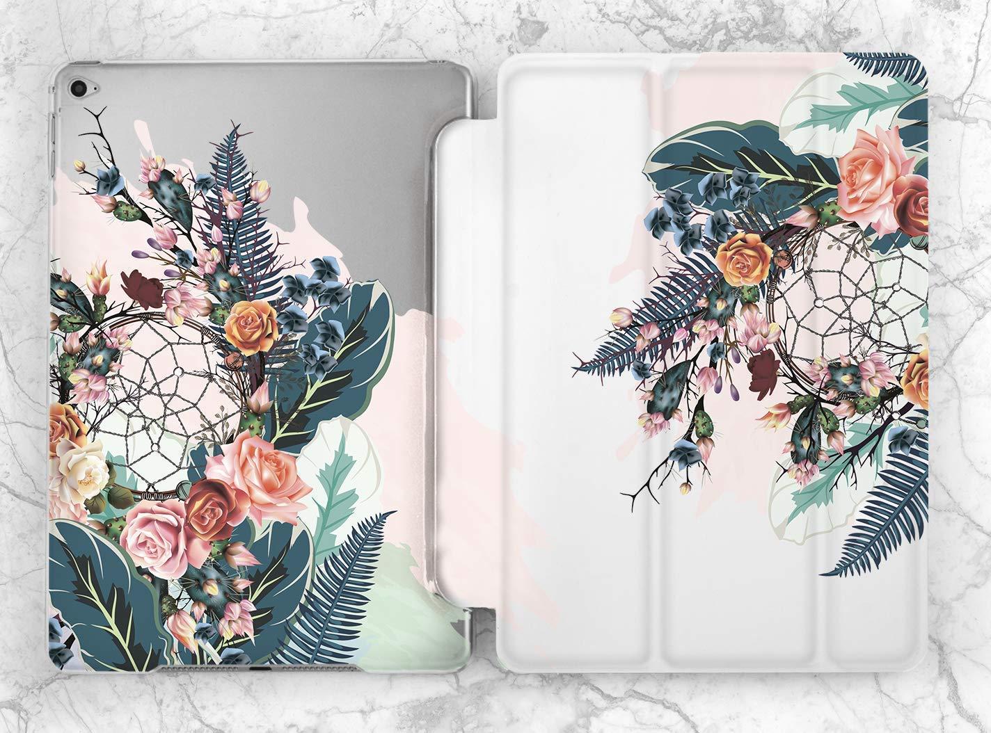 Floral iPad Air 2 3 Smart Cover iPad Mini 4 5 Plastic Case iPad Pro 11 12.9 2018