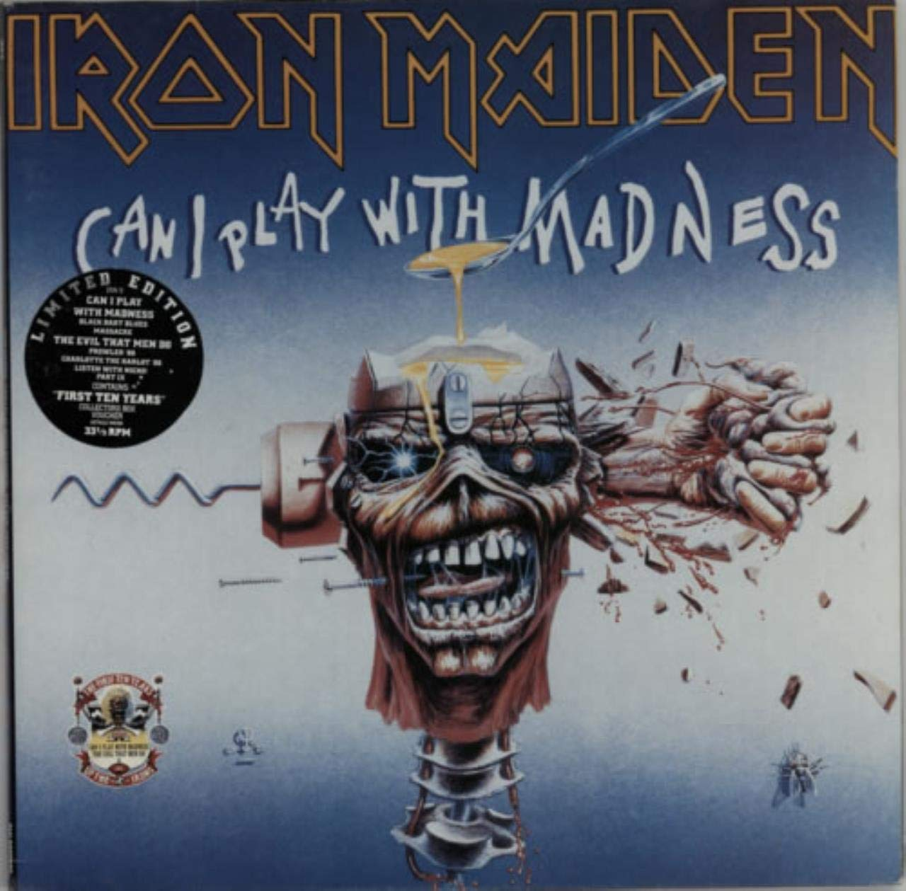 Can I Play With Madness / The Evil That Men Do B003DXSR6U
