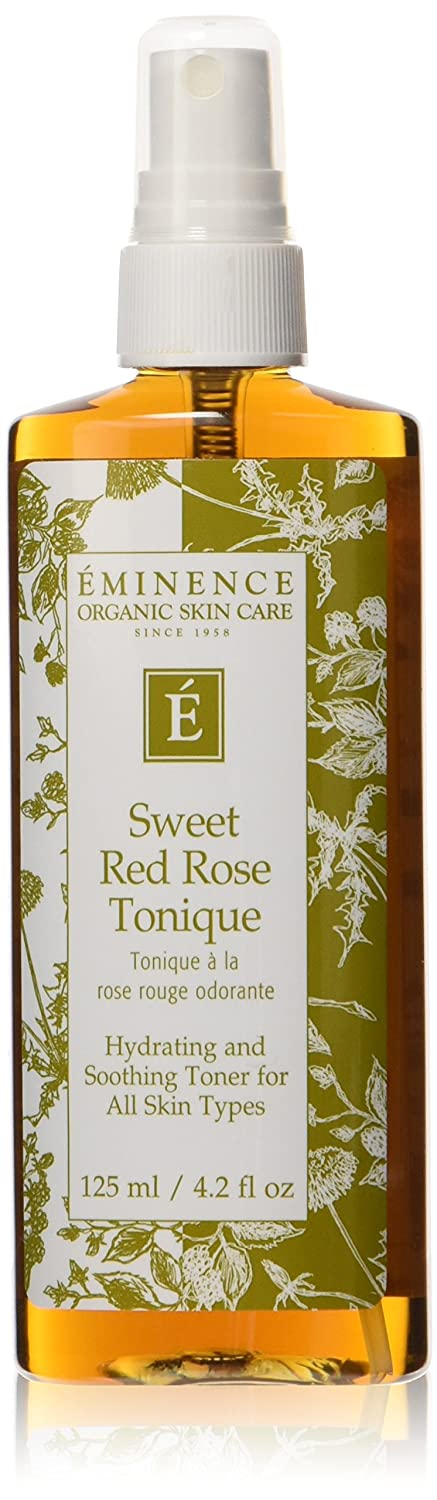 Eminence Tonique, Sweet Red Rose, 4 Ounce