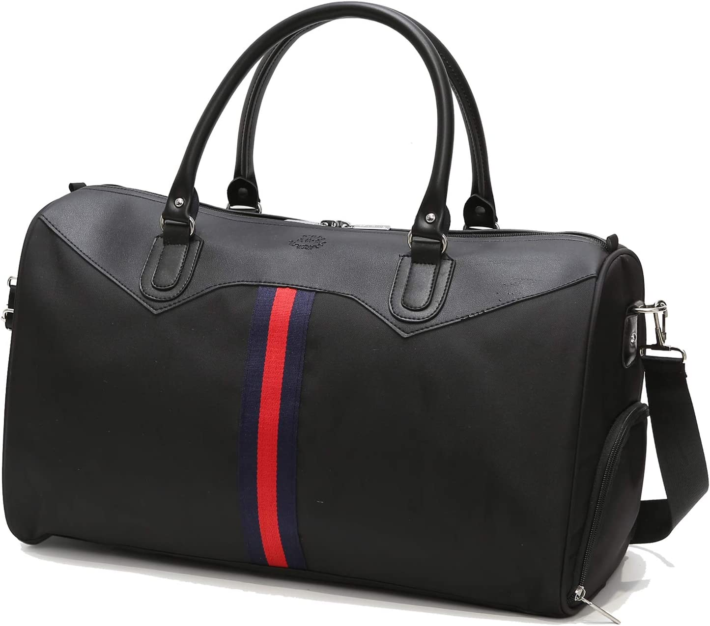 SYKT Duffle Bags Women Men Sports Gym Bag with Shoes Compartment Multi-use Travel Duffel Bag