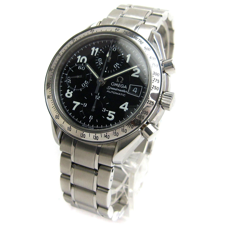 [オメガ]OMEGA 腕時計 3513.52 スピードマスターデイト オート 日本限定 アラビア数字 メンテナンス済 メンズ 中古 B07F8LXGF9