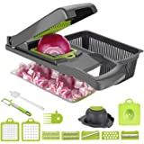 Vegetable Chopper Dicer Yibaision Food Choppers And Dicers Veggie Chopper Dicer, Heavier Duty 8 Multi Vegetable Cutter For On
