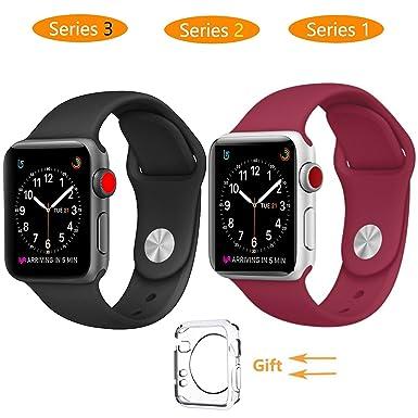 Reloj inteligente banda 38 mm, jihibo banda para Apple Watch 38 mm serie 3/