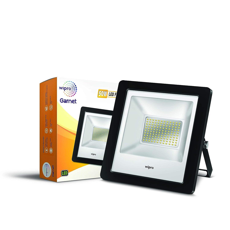 Wipro Garnet 50-Watt LED Floodlight (Cool Day Light, White)