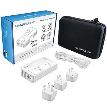 Amazon.com: BanffCliff Travel Power Converter 220V to 110V Voltage ...