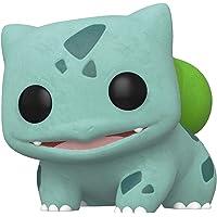 Funko Pop! Games: Pokemon – Flocked Bulbasaur, Spring Convention Exclusive, Multicolor, Modelo: 45920, Bulbasaur, Multicolor