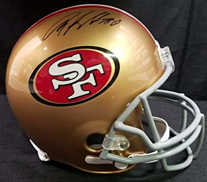1473c024b Anquan Boldin Autograph Autographed Signed Autograph Full Size San  Francisco 49ers Helmet With Beckett