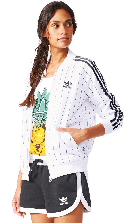 Adidas Pique - Chaqueta de chándal para mujer