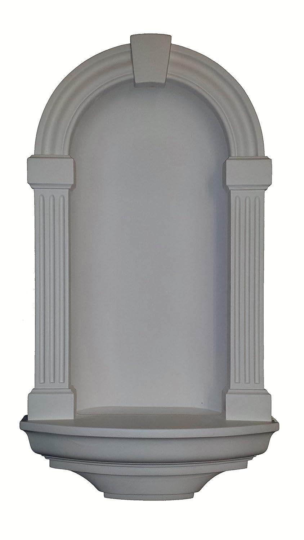 Gaudi Decor empotrable pared nicho 30 inch alta imprimación blanco Poliuretano n733fb: Amazon.es: Bricolaje y herramientas