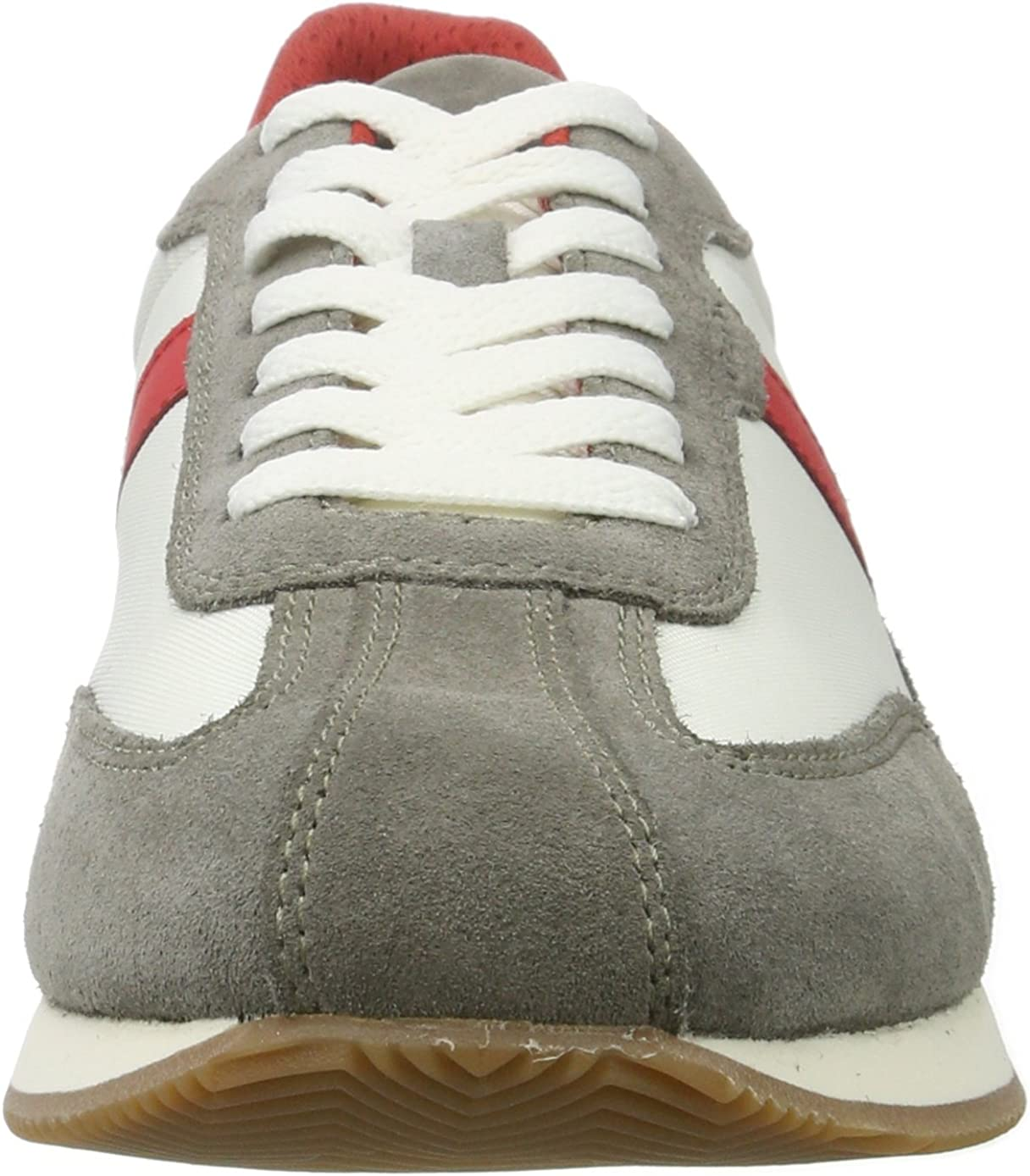 Geox U Vinto D, Sneakers Basses Homme Gris Grey Redc0051