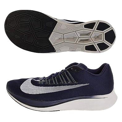 05a036dd3a Amazon.com | Nike Men's Zoom Fly, Obsidian/White-Neutral Indigo, 14 M US |  Fashion Sneakers